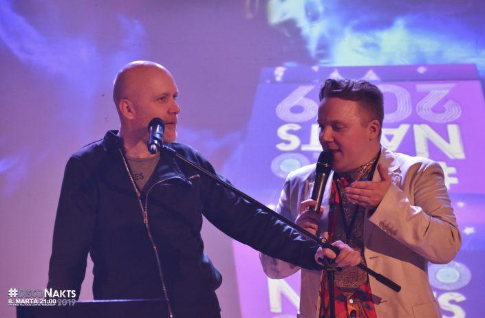 DJ Andis Ozols un MC Raivis Šulcs.