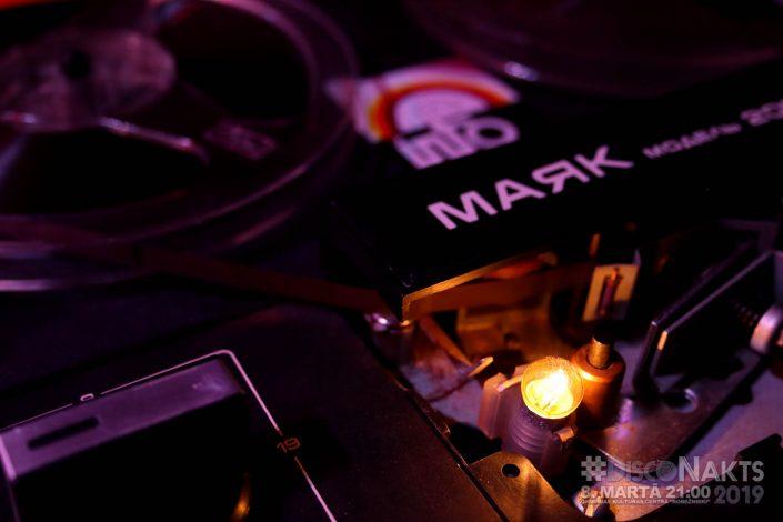 """Majak -205. Diskotēkas """"Info"""", reāls, savulaik ballītēs uz nebēdu izmantots."""
