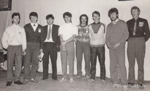 Liepājas rajona diskotēku skate 1986.